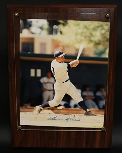 1a9d4ec86fb Harmon Killebrew Signed Autographed Glossy 8x10 Photo in Heavy Wood ...