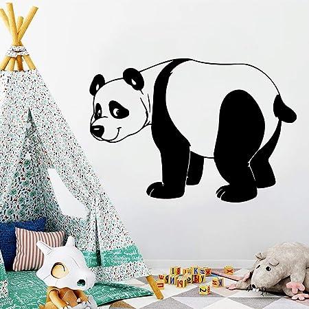 mlpnko Divertido Panda Apliques Vinilo extraíble Mural ...
