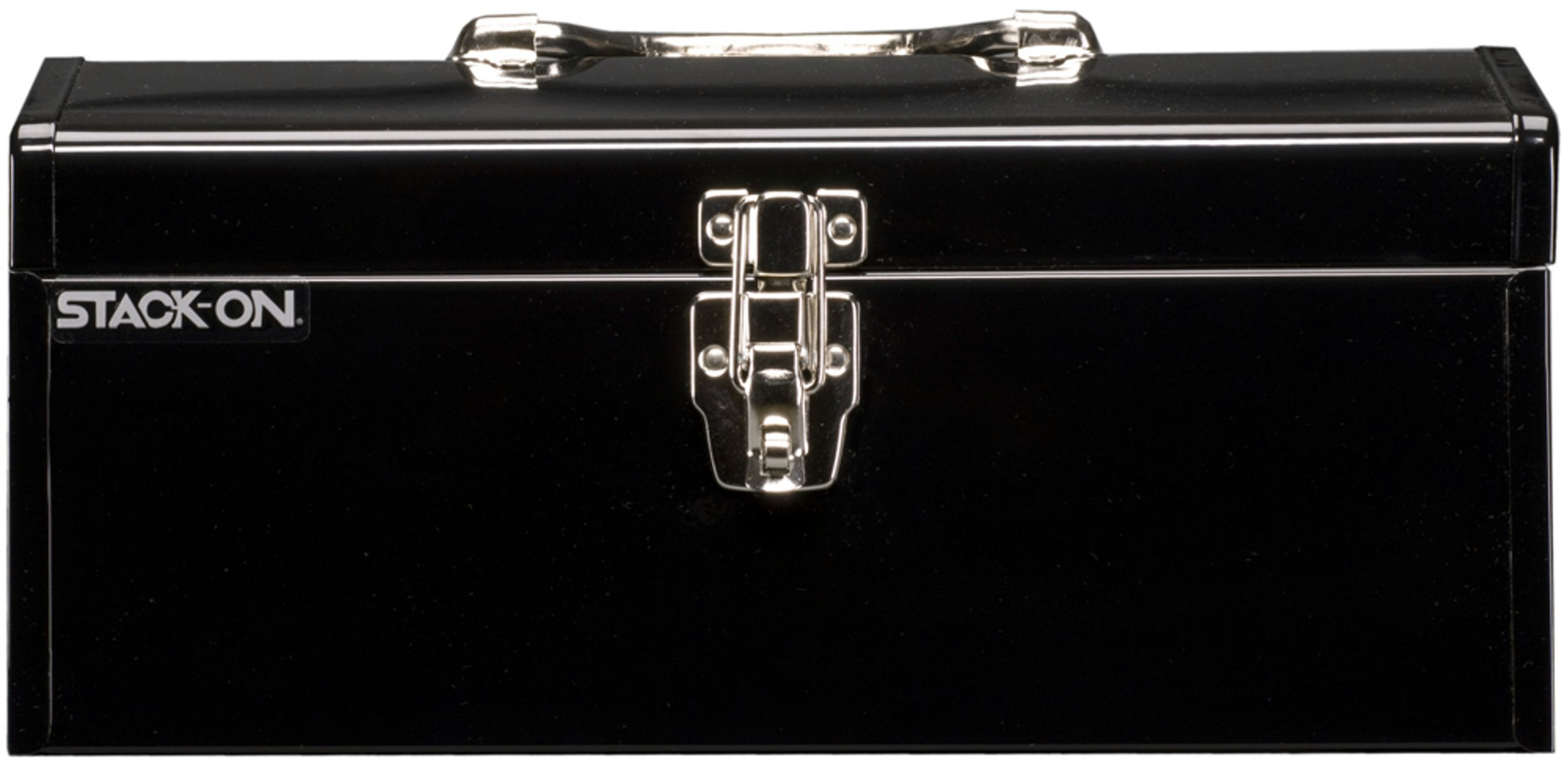 Stack-On SHB-16 16-Inch Multi-Purpose Steel Tool Box, Black