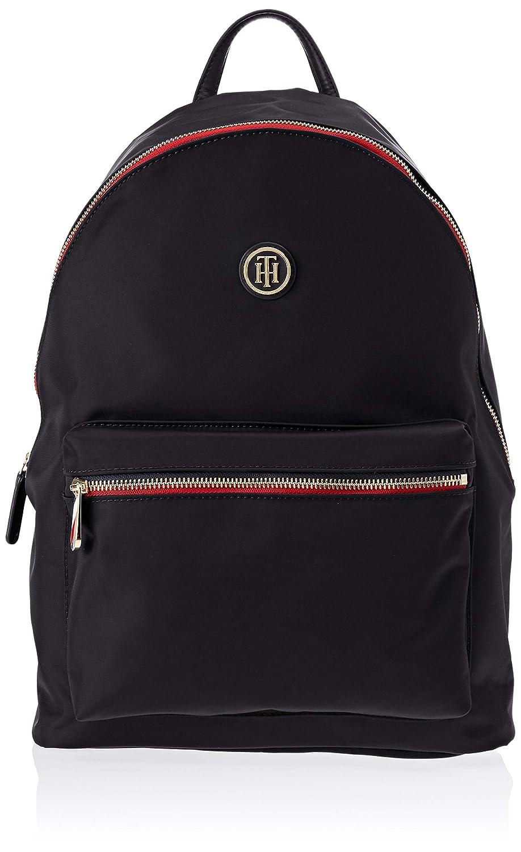 Tommy Hilfiger Poppy Backpack, Sacs à dos Sacs à dos femme Bleu (Tommy Navy) 13x40x30 cm (B x H T) AW0AW05660
