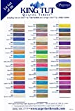 Superior Threads® - King Tut Color Card. First Set Of 50 Colors