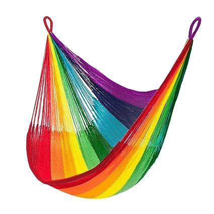 Amazon.com : Rainbow Hanging Chair Hammock : Garden & Outdoor on rainbow rug, rainbow crystal chandelier, rainbow candelabra, rainbow furniture, rainbow hat, rainbow ice, rainbow pillow, rainbow boy anime, rainbow pen, rainbow garden, rainbow dresser, rainbow headboard, rainbow sofa, rainbow drawers, rainbow kitchen, rainbow sun umbrella, rainbow giraffe, rainbow desk, rainbow tv, rainbow computer,