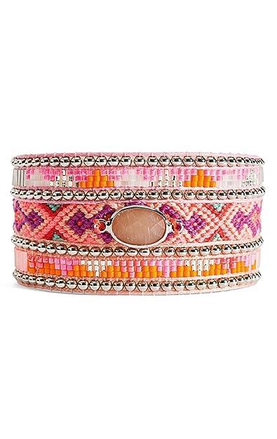 Hipanema Twins Bracelet in Pink ekzBxioRRp