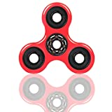 Amazon Price History for:Fidget Spinner Toy Nylon PA Material Hybrid 608 Ceramic Bearing Hand Fidget Spinner Toy Stress Reducer Good for ADHD EDC Hand Killing Time(Red)