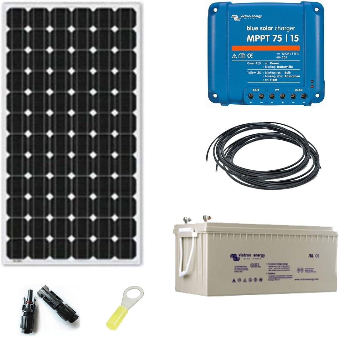 Kit solar autónoma 230 V, 190w, mono