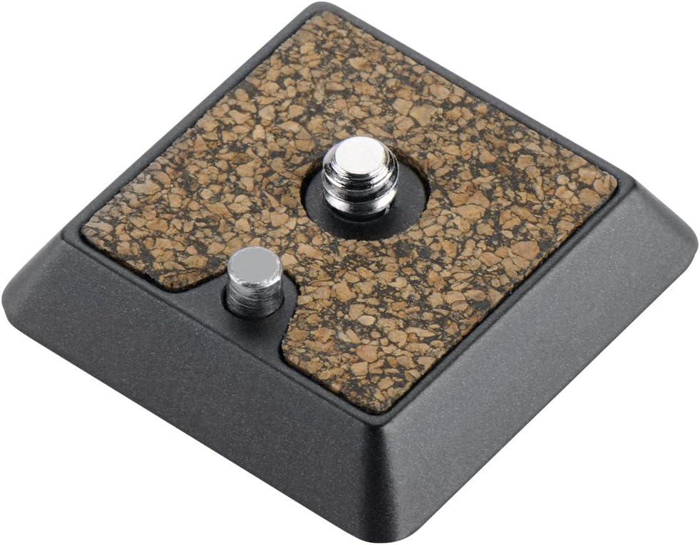 Cullmann 40472 Revomax RX472 Aluminium Quick Release Coupling Plate Black