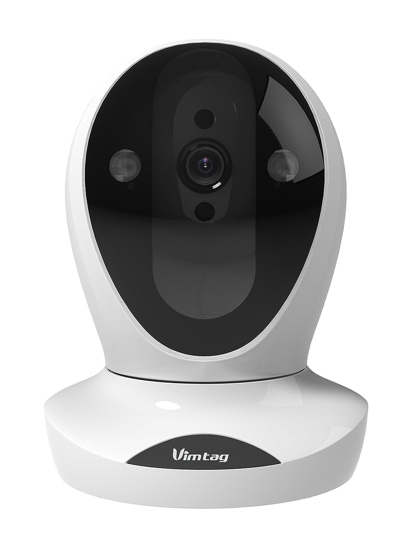 Vimtag P2-2M 見守り&防犯ネットワークカメラ(1080P)/モーション検知スマホ通知双方向通話 B07DPL1FNJ