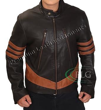 11c0c6459 X-men Wolverine Brown Leather Jacket ►BEST SELLER◄