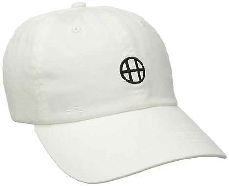 Casquette Strapback Circle H blanc HUF - Ajustable  Amazon.fr ... bf45063f4e8