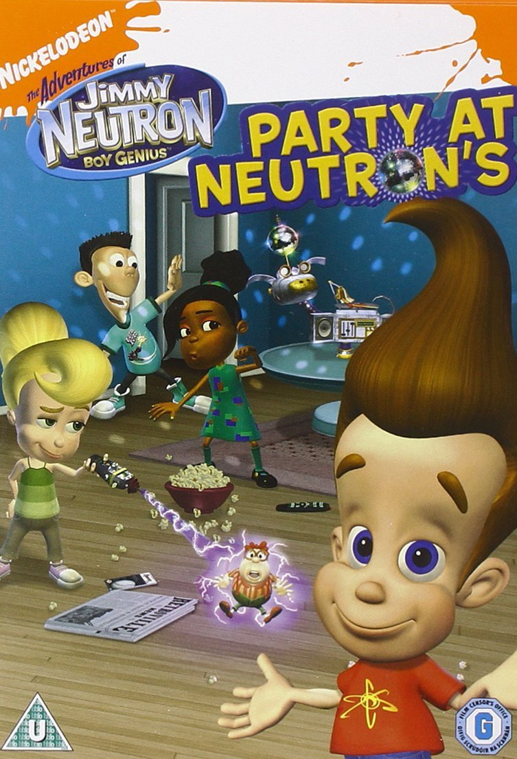 c0f304eb279 Jimmy Neutron - Boy Genius  Party At Neutrons DVD  Amazon.co.uk  Jimmy  Neutron  DVD   Blu-ray