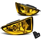 Honda Civic 2/4-Door EM2/ES1/ES2 Pair of Bumper Driving Fog Lights + Wiring Kit + Switch (Amber Lens)