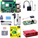 KEYESTUDIO Raspberry Pi 4 Kit with 4GB RAM Board, 32GB Micro SD Card, 5V 3A Power Supply, Case, HDMI Cable, SD Card…