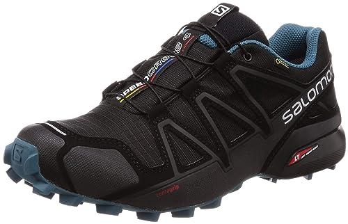 ddc0efc229d45 Amazon.com: Salomon Speedcross 4 GTX Nocturne 2 Trekking New Black: Shoes