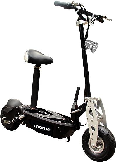Moma Bikes Elektro Scooter, Schwarz, One Size