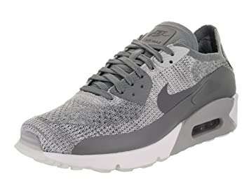 Nike Air Max 90 Ultra 2.0 Flyknit Hombre Zapatillas Grises 875943 003