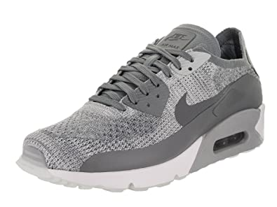 05f6205458 Image Unavailable. Image not available for. Color: Nike Men's Air Max 90  Ultra 2.0 Flyknit, Pure Platinum/Cool Grey-White