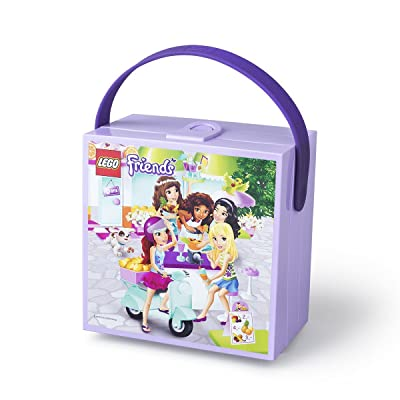 LEGO Friends Lunchbox with Handle Lavender: Kitchen & Dining