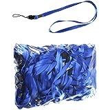 100 Pièces Bleu Lacet Textile LB001