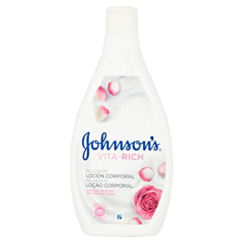 Johnson's Vita Rich Reconfortante Rosas Body Lotion, 400 ml: Amazon