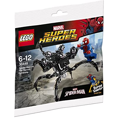 LEGO, Marvel Super Heroes, Spider-Man vs. the Venom Symbiote (30448) Bagged Set: Toys & Games
