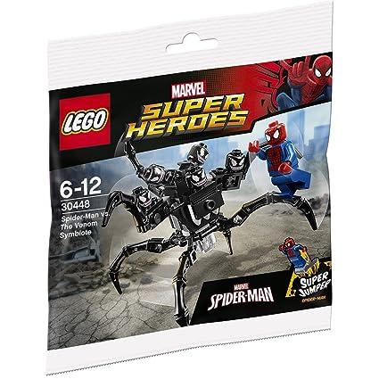 LEGO, Marvel Super Heroes, Spider-Man vs  the Venom Symbiote (30448) Bagged  Set