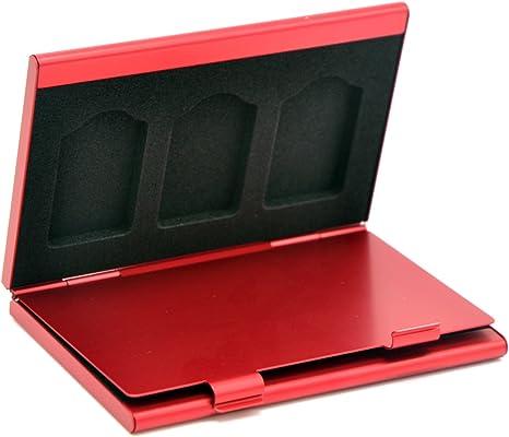 Caja de Almacenamiento de Aluminio 6 en 1 para Nintendo Switch ...