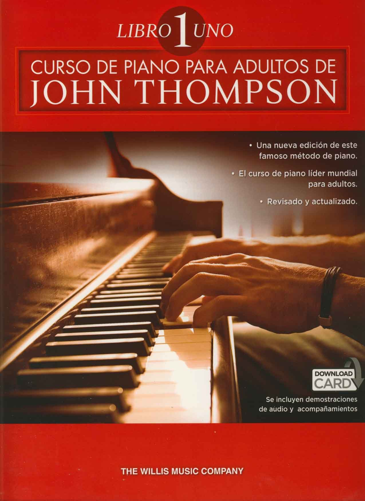 John Thompson: Curso De Piano Para Adultos Volumen 1: Amazon.es ...