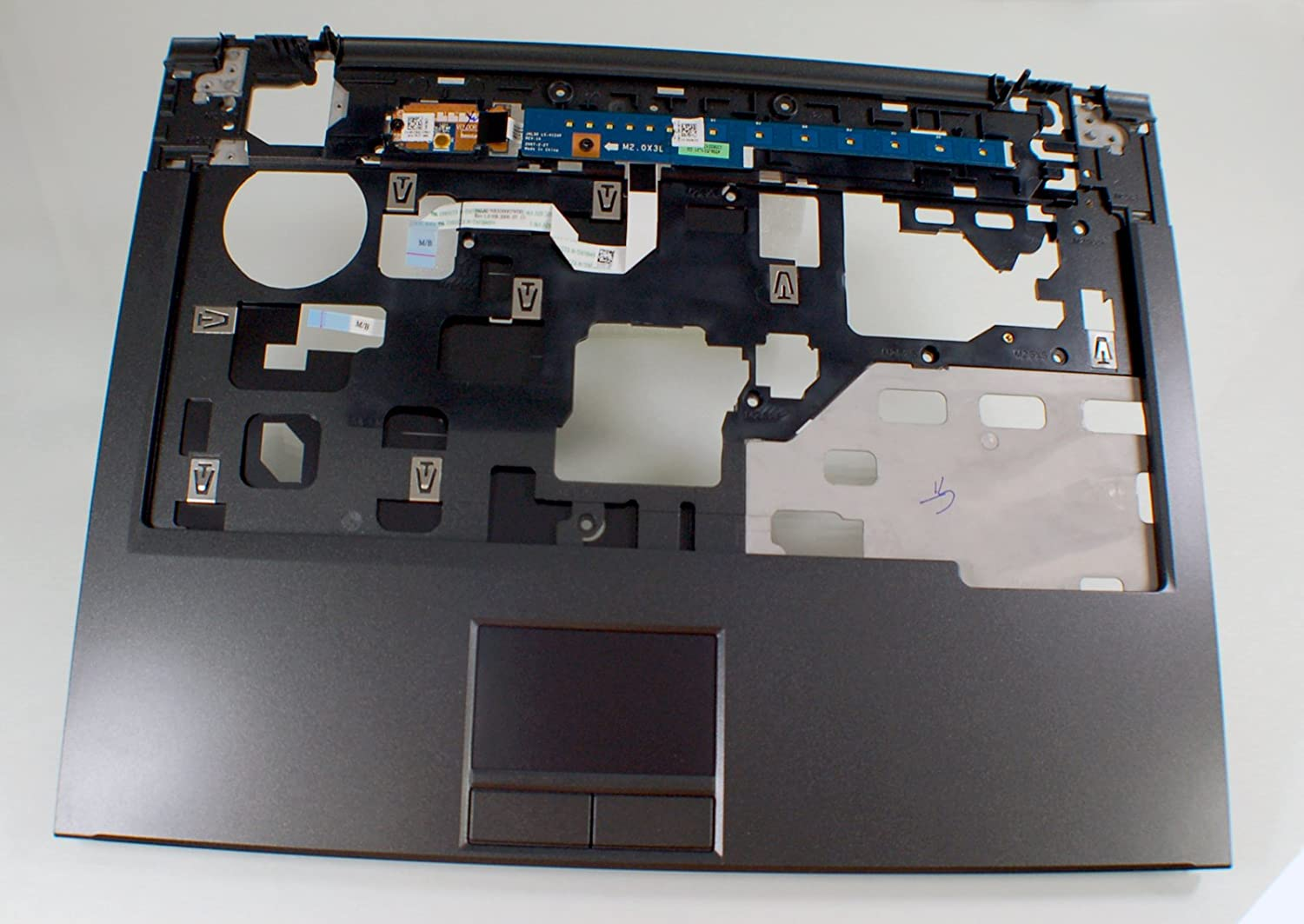 NEW Genuine OEM DELL Vostro 1310 1320 Laptop Palmrest Keyboard Bezel Touchpad Mouse Button Trackpad Trak Pad Single Click H413C