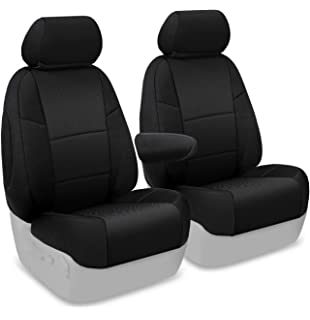 Coverking Custom Fit Front 50 Bucket Seat Cover For Select Honda Models