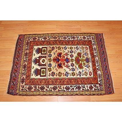 Amazon Com Persian 3 X 4 Multi Color Traditional Oriental Hand