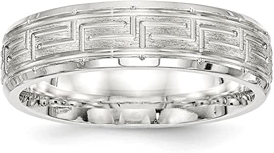 Amazon.com: Jewelry Stores Network 6mm Sterling Silver