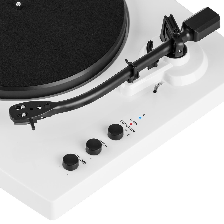 auna TT-Play - Tocadiscos con Dos Altavoces estéreo, Tocadiscos ...