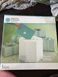 Amazon.com: Martha Stewart Gift Card Box, White Eyelet