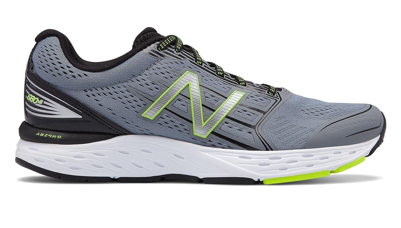 New Balance Men's 680v5 Cushioning Running Shoe B075R3RDDR 11 4E US|Gunmetal