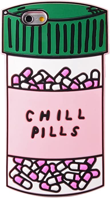 Chill Pills phone Case, Regular Size & Shockproof Protective