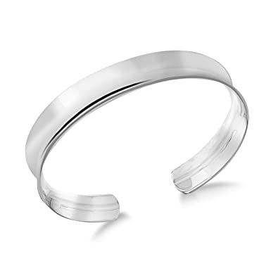 Tuscany Silver Sterling Silver Fancy Torque Bangle x7Rt0kr4w9