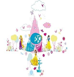 Disney Princess Ring my Bell Door Sign Wall Sticker  Pink. Butterfly Bedroom Doorbell girls kids children toy room battery