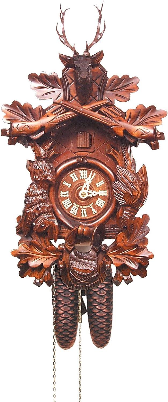Alexander Taron Mountain Cottage and Evergreen Trees Cuckoo Clock