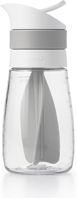 OXO Good Grips Twist & Pour Salad Dressing Mixer, Gray