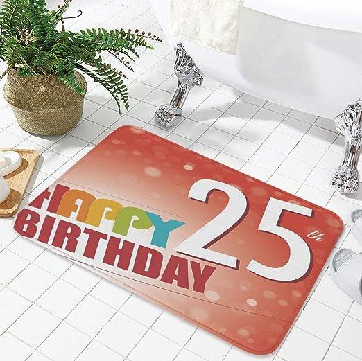 YOLIYANA tapete de Piso de Pelo Corto, 22 cumpleaños ...