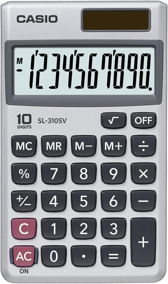 Casio SL-310SV Standard Function Calculator