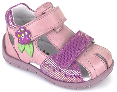 0df595ad7fc4 Froddo Girls G2150070 Closed Toe Sandals Pink Multi  Amazon.co.uk ...