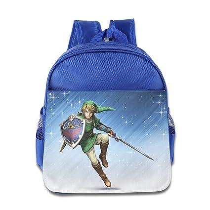 Historia de elfo – Enlace la Leyenda de Zelda poco Kid bebé niños niñas mochila escolar