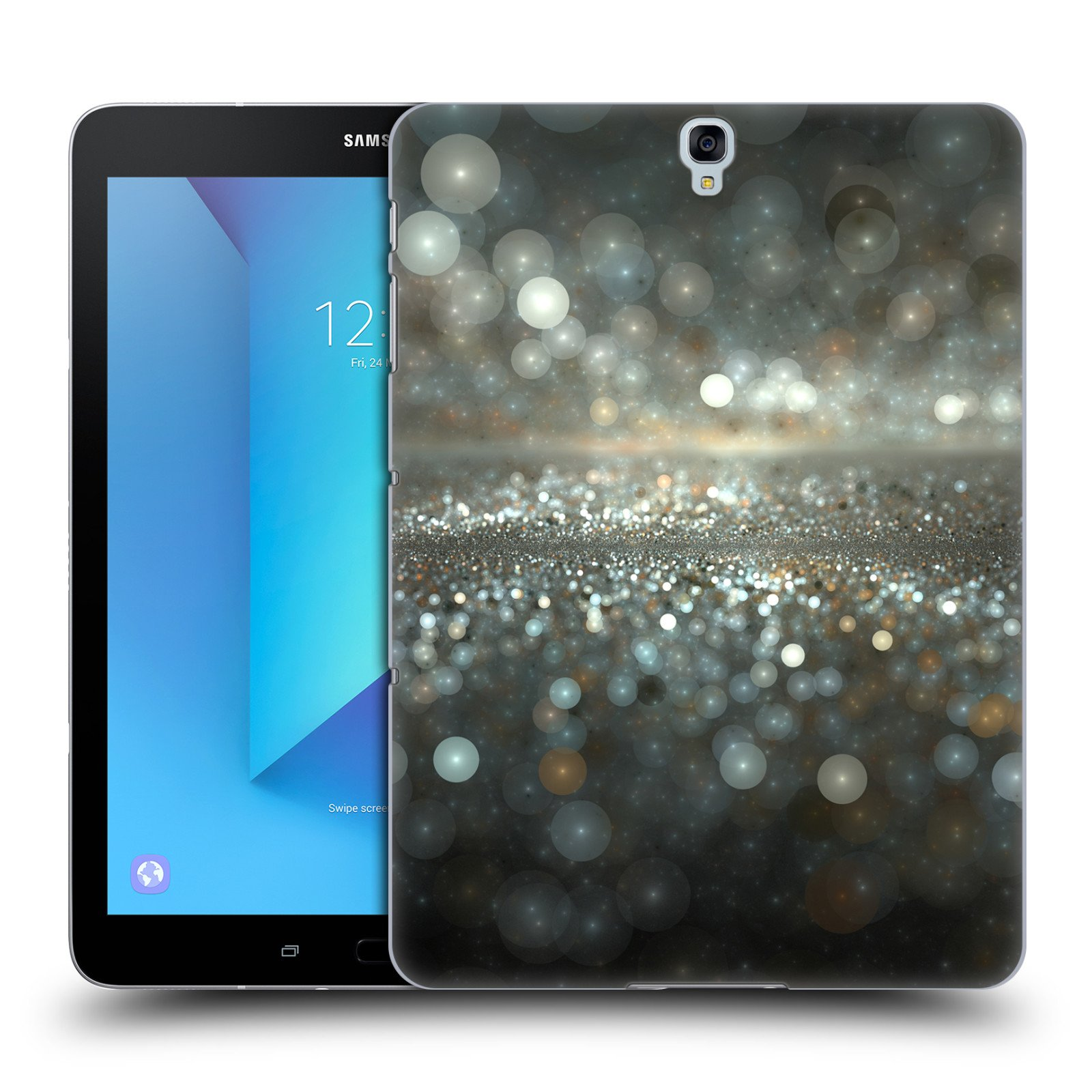 Official Andi GreyScale On the Other Side Solar Bokeh Hard Back Case for Samsung Galaxy Tab S3 9.7