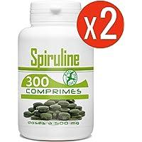 Spiruline 500 mg - 600 Comprimés