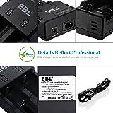 EBL 26650 5000mAh 3.7V Lithium Rechargeable
