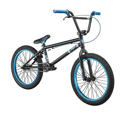 Amazon.com : Kink Curb 2013 BMX Bike (Black/Cyan, 20-Inch) : Sports ...