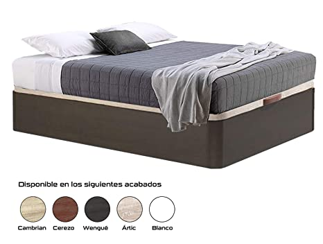 HIPERSTOCKS CANAPE ABATIBLE WENGUE Canto Redondo (135 X 190)
