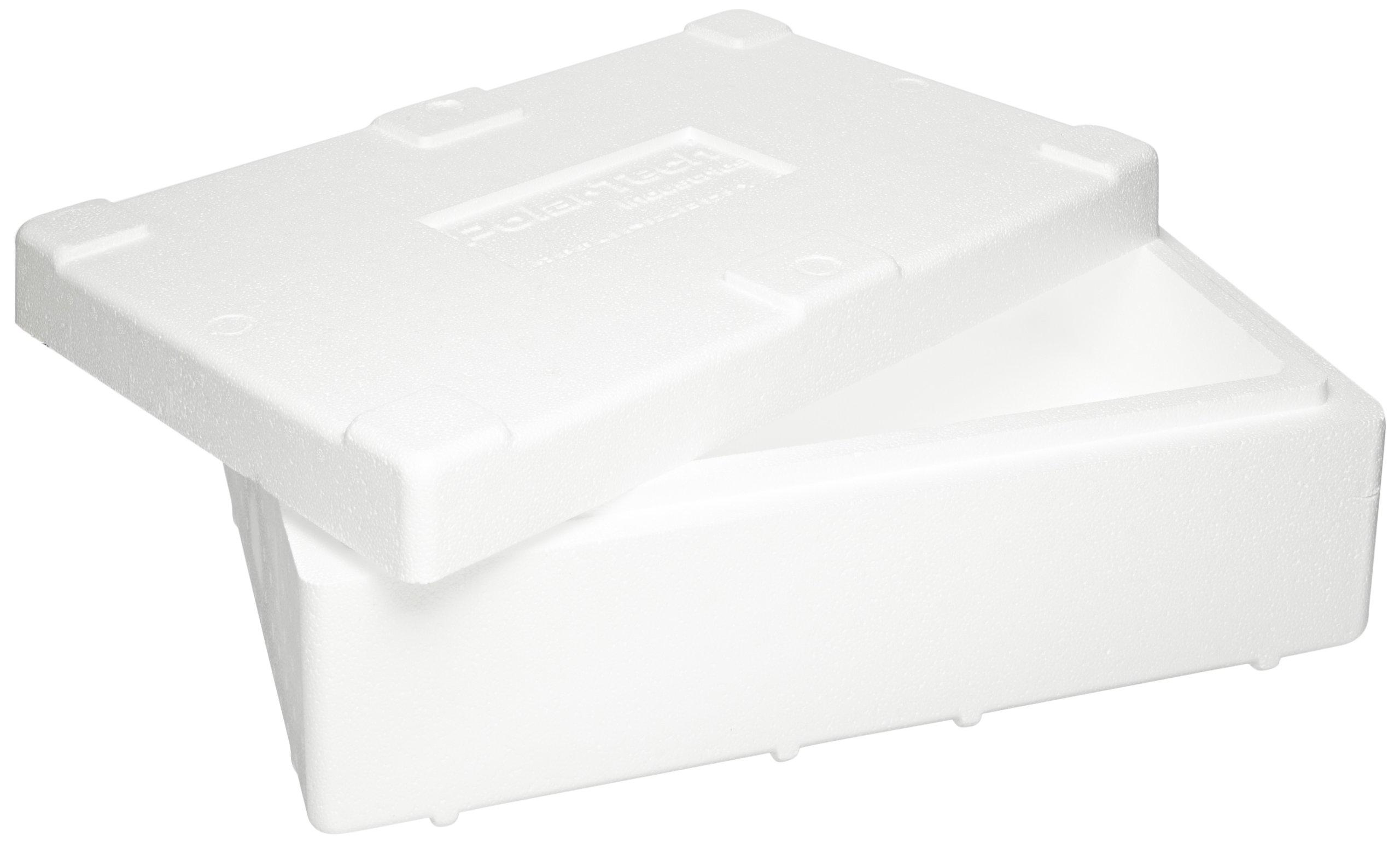 Polar Tech 245C Thermo Chill Insulated Carton with Foam Shipper, Medium, 17'' Length x 10'' Width x 8-1/4'' Depth by Polar Tech (Image #2)