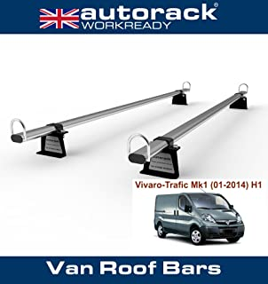 Autorack MegaBars HEAVY-DUTY Van Roof Rack Bars for all Models MERCEDES SPRINTER 2006-to-New